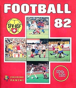 Panini Football Switzerland 1981-1982