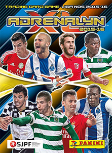 Panini Liga NOS 2015-2016. Adrenalyn XL