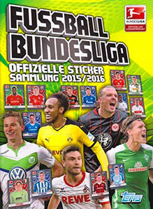 Topps German Football Bundesliga 2015-2016