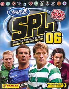 Panini Scottish Premier League 2005-2006