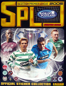 Panini Scottish Premier League 2004-2005
