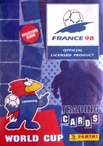 Panini FIFA World Cup France 1998. Trading Cards