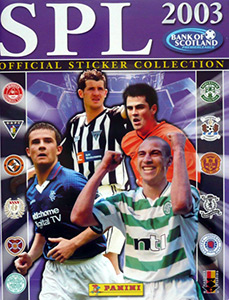 Andy McLaren Dundee United No 82 Panini Scottish Premier Division 95