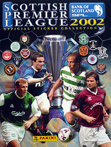 Panini Scottish Premier League 2001-2002