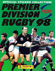 Panini Premier Division Rugby 1997-1998