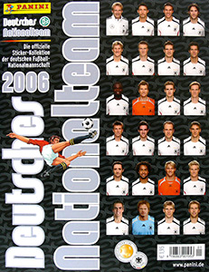 Panini Deutsches Nationalteam 2006
