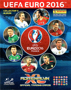 UEFA Euro France 2016. Adrenalyn XL