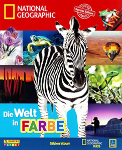 Panini Die Welt in Farbe