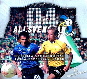 The Card Cabinet Allsvenskan Football 2004