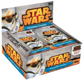 Star Wars. Rebels. Trading cards