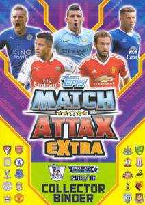 Topps English Premier League 2015-2016. Match Attax Extra
