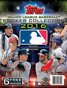Topps MLB Sticker Collection 2016