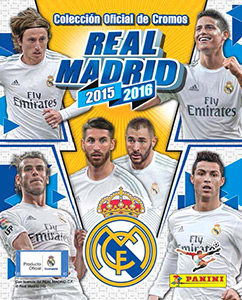 Panini Real Madrid 2015-2016