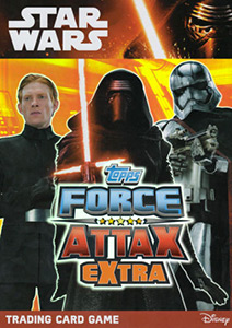 Topps Star Wars Force Attax Extra