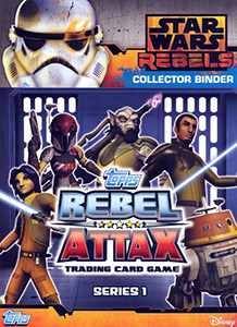 Star Wars Rebels. Rebel Attax. Series 1