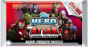 Topps Hero Attax. Marvel Cinematic Universe