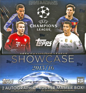 Topps UEFA Champions League Showcase 2015-2016