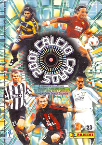 Panini Calcio Cards 2000-2001