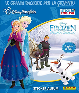Frozen. Stick in English