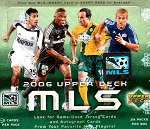 Upper Deck MLS 2006