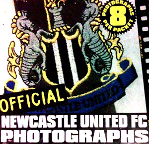 Newcastle United 1997-1998. Photocards