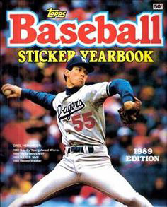 Topps Baseball Sticker Yearbook 1989