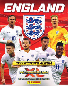 England 2016. Adrenalyn XL