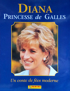 Panini Diana. Princess of Wales