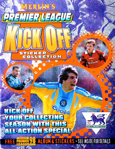 Merlin English Premier League 1997-1998. Kick off
