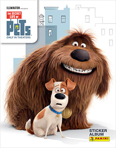 Panini The Secret Life of Pets