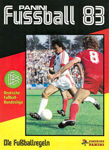 Panini German Football Bundesliga 1982-1983