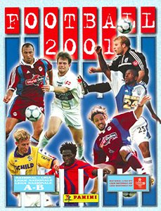 Panini Football Switzerland 2000-2001