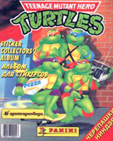 Panini Teenage Mutant Hero Turtles