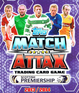 SPFL 2013-2014. Match Attax