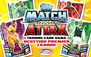 SPFL 2012-2013. Match Attax