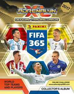 Panini FIFA 365: 2016-2017. Adrenalyn XL