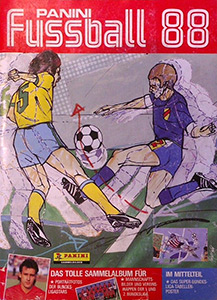 Panini German Football Bundesliga 1987-1988
