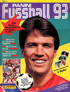 Panini German Football Bundesliga 1992-1993