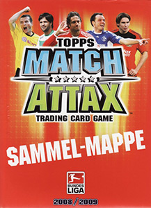 Topps German Fussball Bundesliga 2008-2009. Match Attax