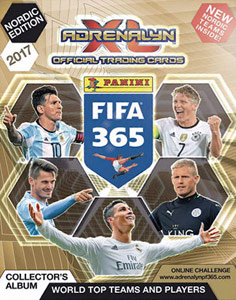 FIFA 365: 2016-2017. Adrenalyn XL - Nordic edition