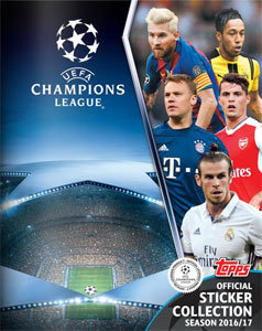 Topps UEFA Champions League 2016-2017