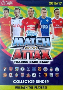 English Premier League 2016-2017. Match Attax