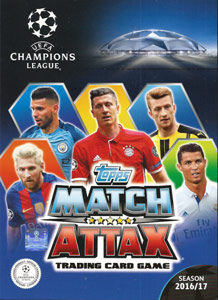 Topps UEFA Champions League 2016-2017. Match Attax