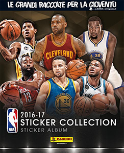 Panini NBA Basketball 2016-2017. European edition