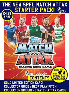 SPFL 2016-2017. Match Attax