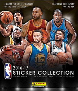 Panini NBA Basketball 2016-2017. US edition