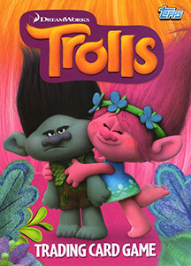 Topps Trolls Trading Card Game