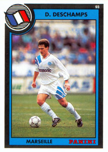 PANINI VIGNETTE STICKERS FOOTBALL FOOT 92 N°53 LE HAVRE PHILIPPE MAHUT