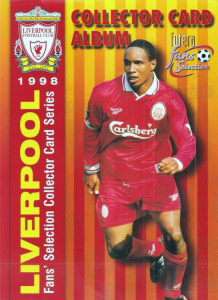 Futera Liverpool Fans' Selection 1998