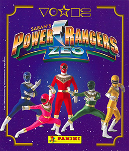 Panini Saban's Power Rangers Zeo